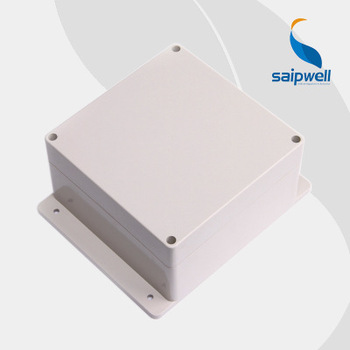 China suppliers Electronics project box ABS/PC  Enclosure IP67 Electric Junction box with flange  CE ROHS