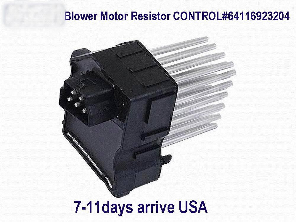 Вентилятор двигатель управление для 1997 - модели с автоматический темп управление OEM # 6411 6923 204 и 6411 6929 486