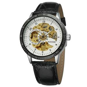 Watches Men Luxury Brand Automatic Wristwatch Chinese Cheap T- winner Skeleton Auto Custom Mechanical Top 10 Wrist Watch OEM