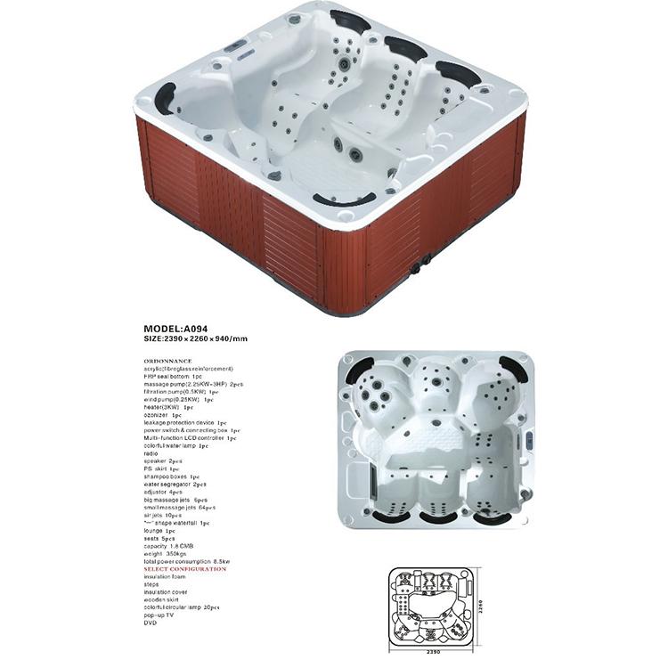Portable Bathtub Jet Spa,Whirlpool Bathtub Massage Water Jet,Air Jet ...