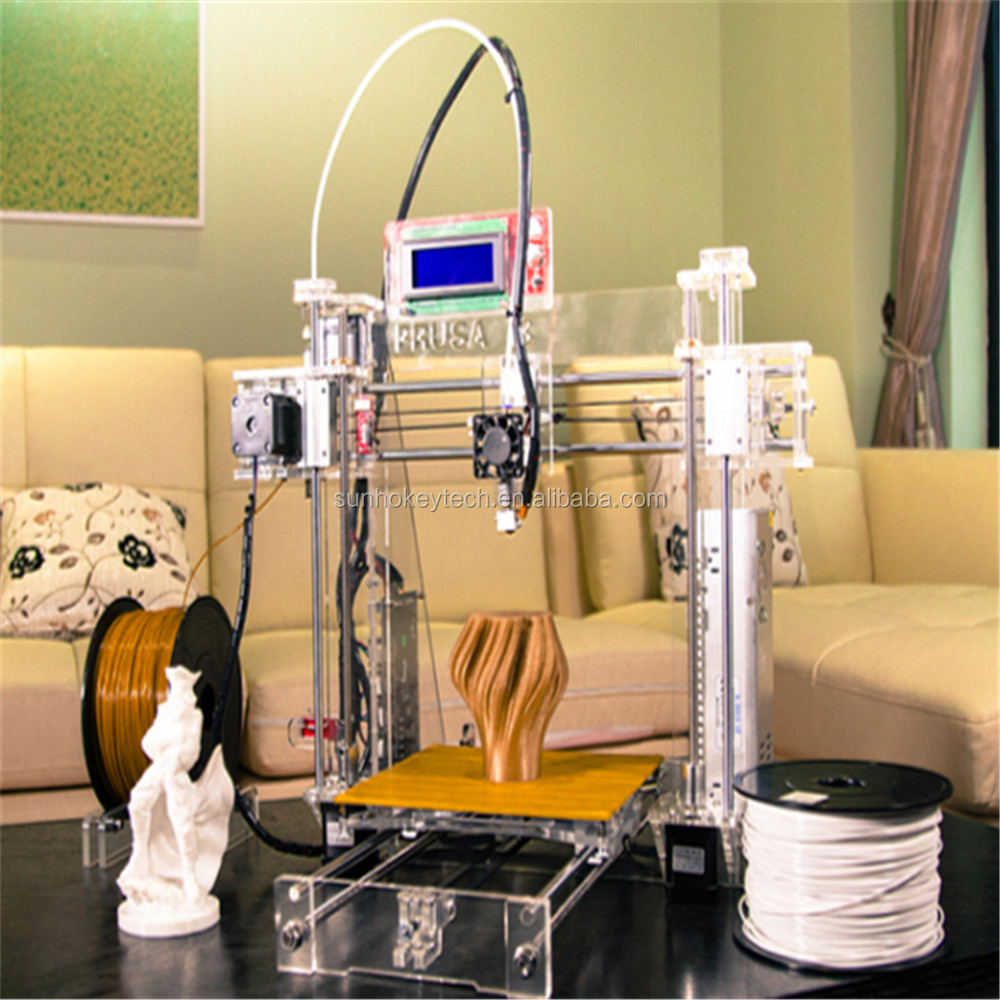 Manufacturer Directory High Precision Reprap Prusa i3 DIY 3D <strong>Printer</strong> for Sale 2Rolls filament +Sd card as Gift