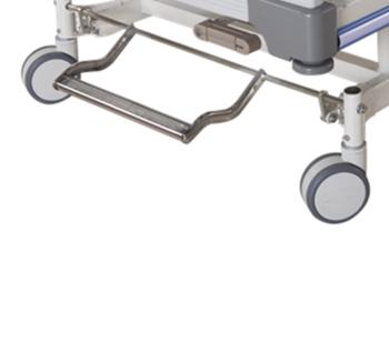 Abs Cama De Hospital Uci 3 Bielas Hidraulica Manual Cama De