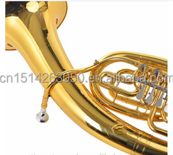 TB-G4 Bb Marching Tuba con superficie laccata oro e corpo in ottone giallo
