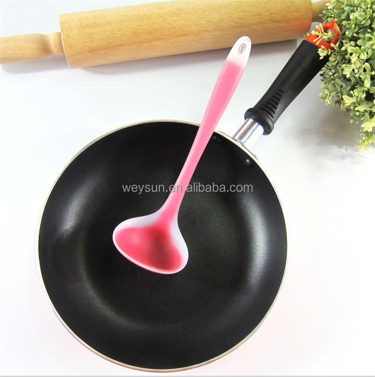 Utensilios de cocina arco iris serie de silicona cucharones de gran tama o cucharada 29 9 cm - Utensilios de cocina de silicona ...