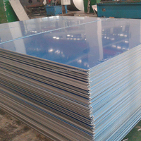 Dechuang aluminum sheet products 0.5mm thickness polished mirror finish aluminum sheet for construction