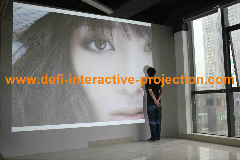 Multimedia HDMI USB Projector Full HD 4500lumens Project images,home theater projector