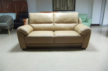 Exceptionnel High Backrest With Thick Cushion Rexine Leather Sofa