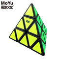 Original MoYu Triangle Pyramid Pyraminx Magic Cube Speed Puzzle Twist Cubes Educational Toys For Children Kids