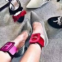 Cheap body foot anklets plain colored leather women foot bracelet