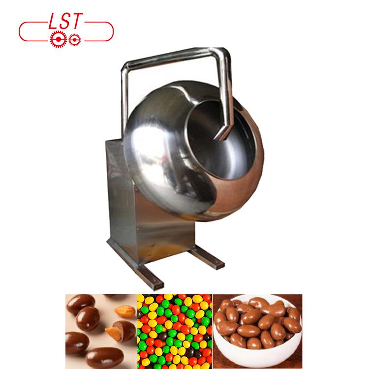 Multifunzionale Cioccolato Mandorle Noci Peanut Patinata Della Caramella di Zucchero Macchina di Rivestimento