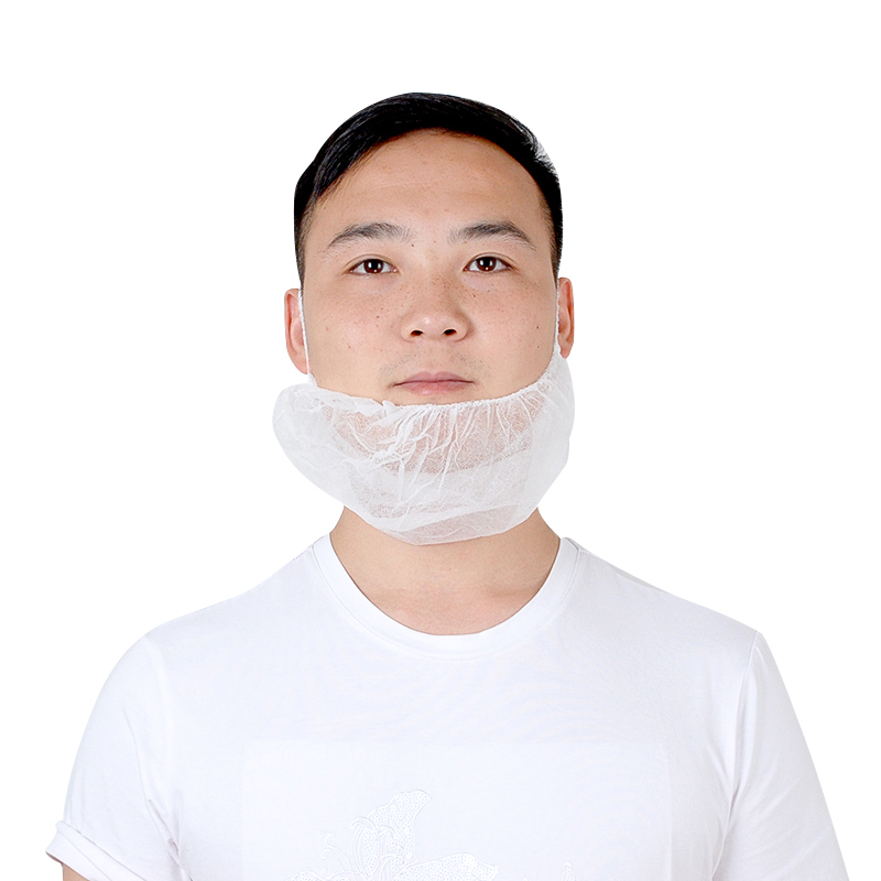 <strong>Protective</strong> Surgical PP Disposable Non-woven beard cover with ear loop