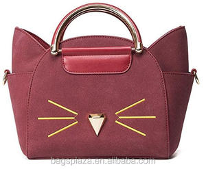 Cats Leather Handbags 8b24919685691