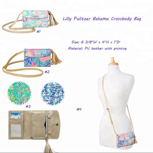 Wholesale New Arrival Fashionable Lilly Pulitzer Bahama Crossbody Bag