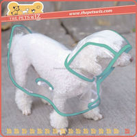 Fashion dog rain coat ,CC022 dog clothes for rain , sport raincoat for puppy