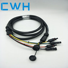 headlight fiber dc plug and jack wiring harness cable assembly appliance