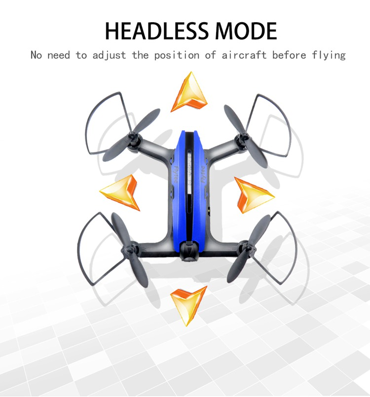 (Ship from US) Flytec T18 RC Quadcopter With 2.0MP Wide Angle HD Camera Wifi fpv Rc Mini Micro Racing Drone