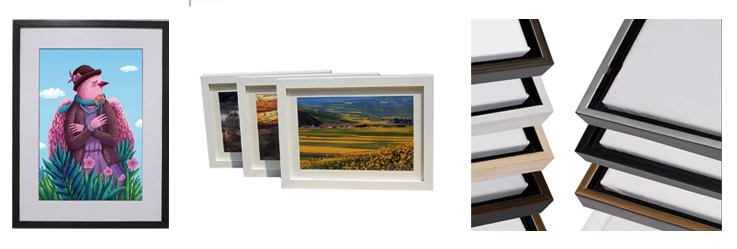 Decoration Solid Wood Frame Picture Photo Deep 3d Shadow Box Frame