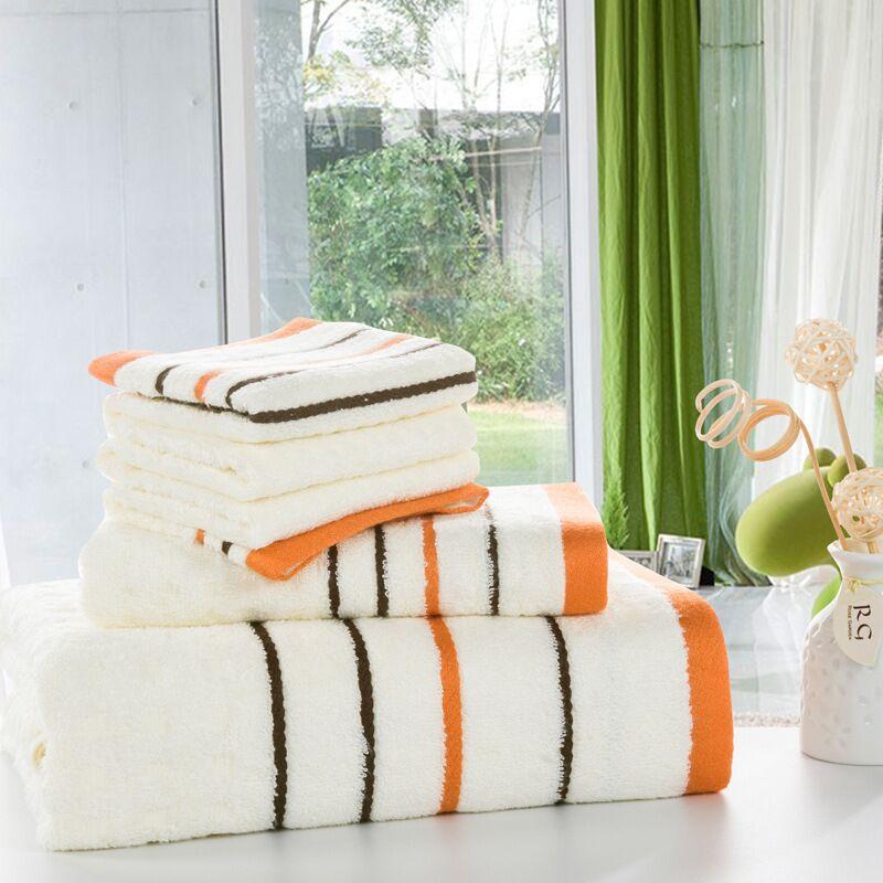 Gift Suit China Cheap High Soft Jacquard Bamboo Towel Set