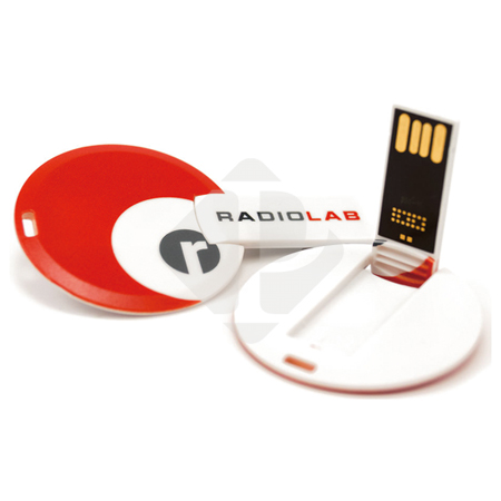 Promotional Gift Data Preload ABS Wafer USB Card Flash Drive