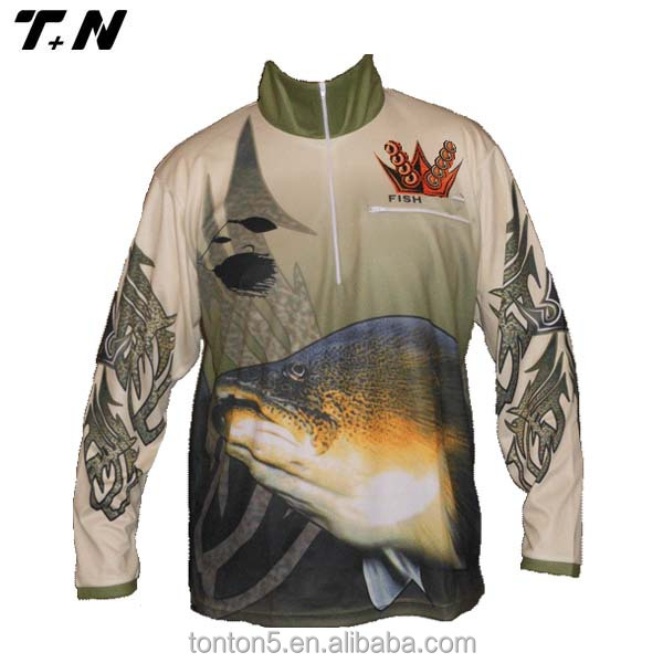 High quality custom fishing shirts wholesale , wholesale fishing shirts, fishing wear