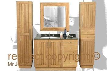 Bathroom Vanity In Teak Mr Jones Furniture