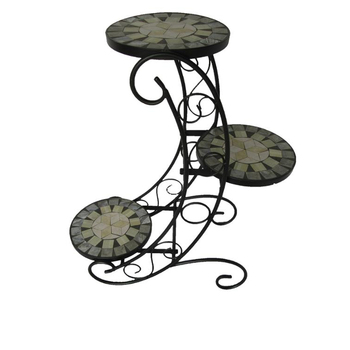 Groovy Hand Made Wrought Iron Flower Pot Stands Garden Decoration With Mosaic Buy Flower Stand Iron Flower Pot Stand Wrought Iron Flower Pot Stands Product Customarchery Wood Chair Design Ideas Customarcherynet