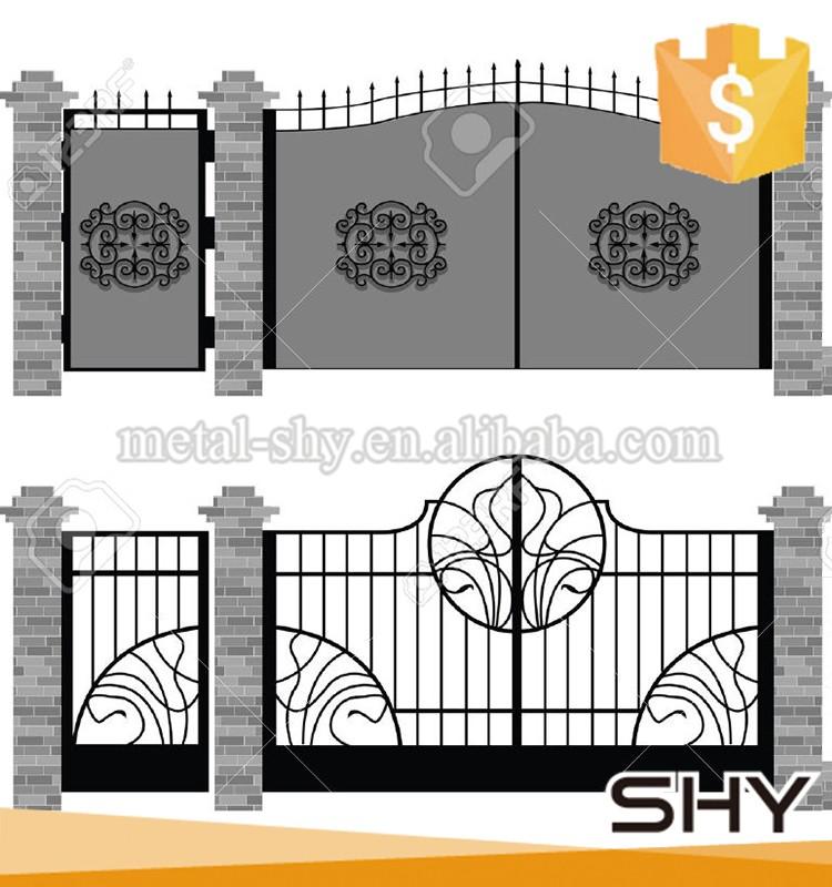 Wrought Iron Door Decoration, Wrought Iron Door Decoration Suppliers ...