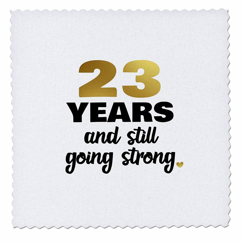 Get Quotations Rose Janna Salak Designs Anniversary 23 Year Still Going Strong 23rd Wedding Gift