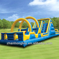 2013 new design giant inflatable floating slide for sale