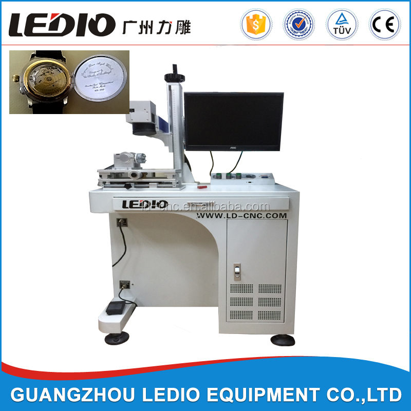 Guangzhou ledio CNC Fiber laser marking machine for hot sales in Morocco market