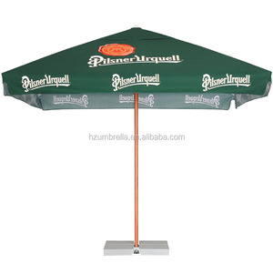 2.5X2.5M umbrella, aluminium frame square spring market umbrella parasol patio umbrella