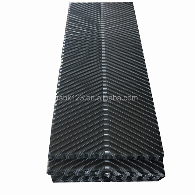 PVC fill for water cooling tower,plastic honeycomb pvc infill media ,cooling tower pvc filler 610mm