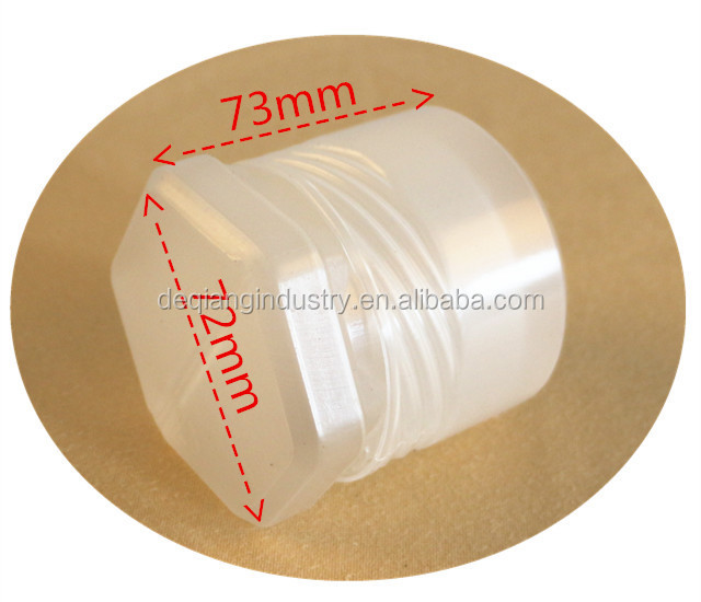 Tapping collet box Plastic boxes for tool and hardware Circular rotating tool box 65mm*60mm