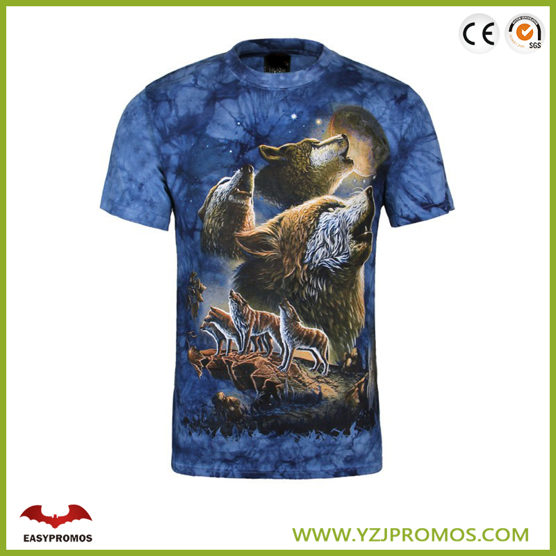 2017 custom wholesale china digital sublimation printing T shirt printing china