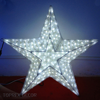 2016 new DIY beautiful outdoor led christmas star