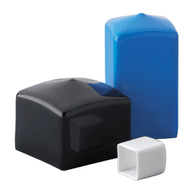 Flexible Square Steel Tubing Protection End Cap Buy