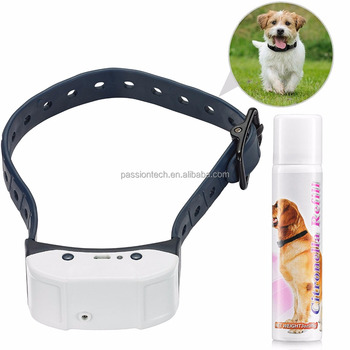 Luxury Rechargeable Dog Control Spray Anti Bark Collar