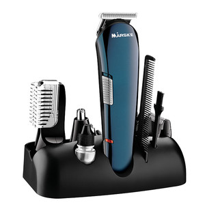 5 in 1 Hair Shaver Razor Beard Trimmer Rechargeable Hair Trimmer Clipper Set Professional Men Styling Tools Shaving Machine