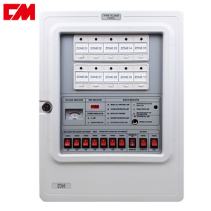 Simple Safe Home Fire Alarm System Security Control Panel