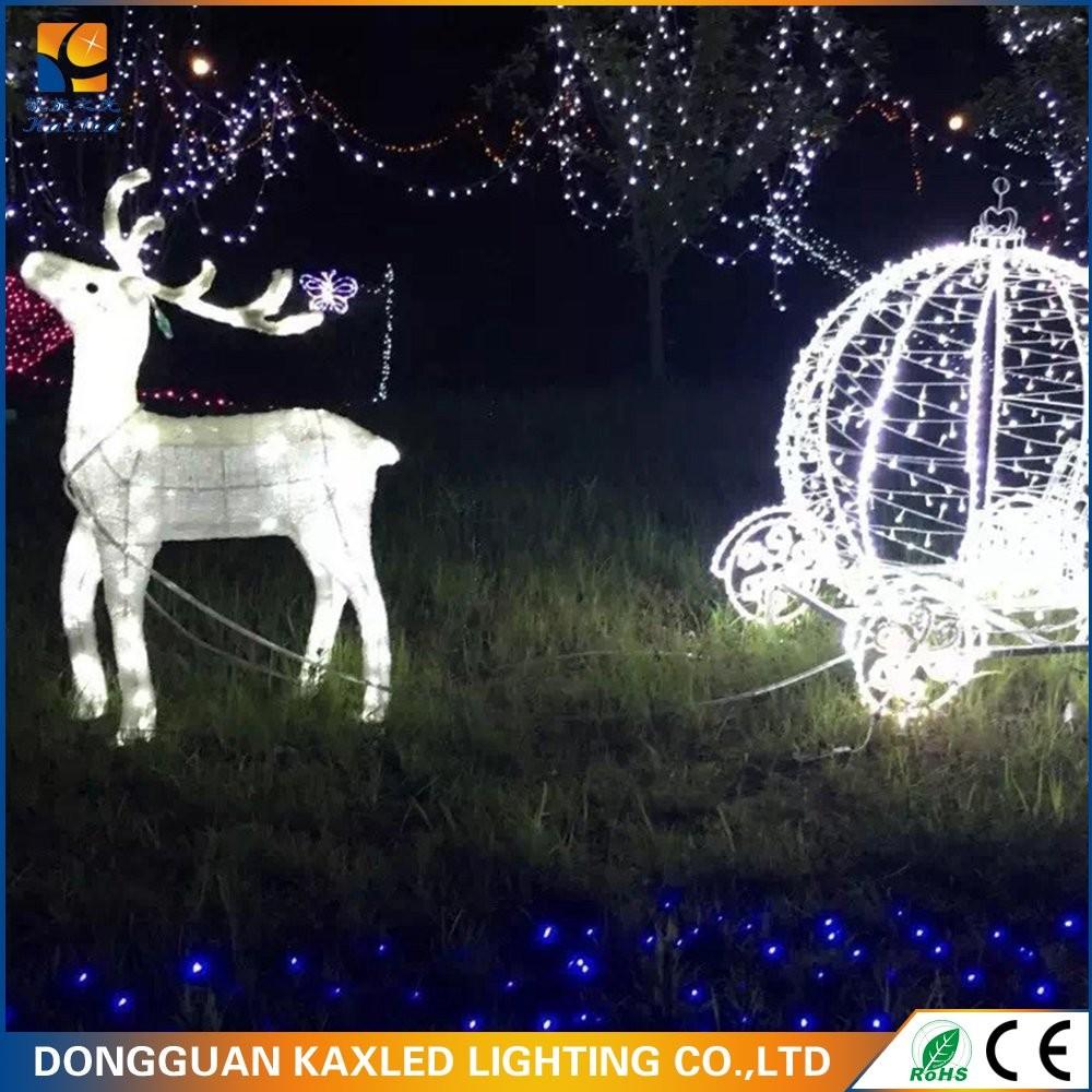 large outdoor christmas reindeer light large outdoor christmas reindeer light suppliers and manufacturers at alibabacom - Deer Christmas Lights