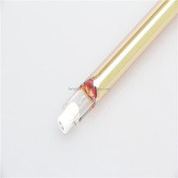 quartz glass tube halogen heat light rohs lamps