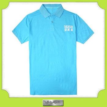 Custom Polo Collar Sport T Shirts With Embroidery Design Buy