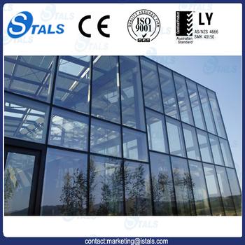 Vente Chaude En Verre En Aluminium De Mur Rideau Profil Façade ...