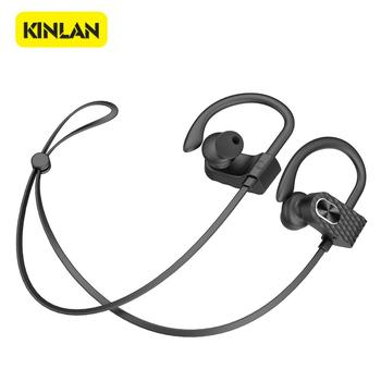 stereo bluetooth earphone earhook wireless headphones BSCI
