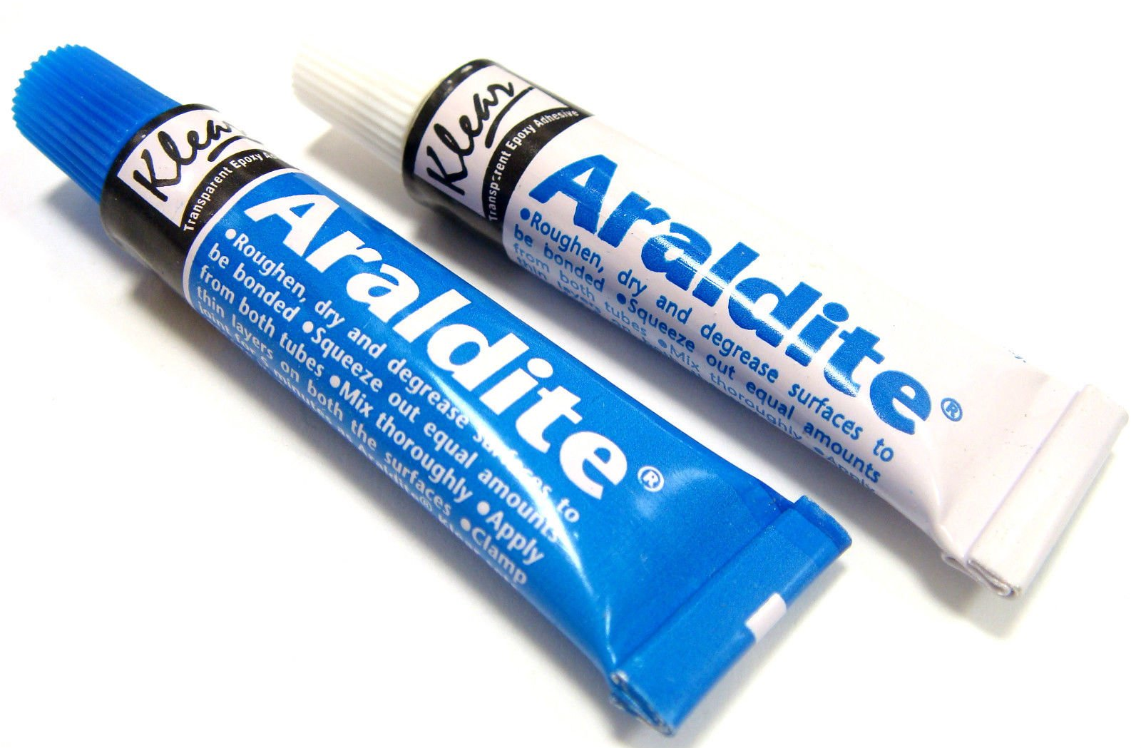 Araldite Epoxy Resin Glue 2 Part Clear Epoxy Adhesive Transparent Quick Dry Glue