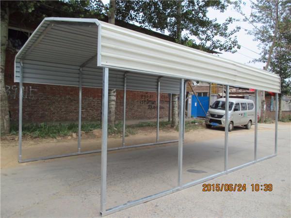 large steel carport canopy/ backyard shelter & Large Steel Carport Canopy/ Backyard Shelter - Buy Canvas Carport ...