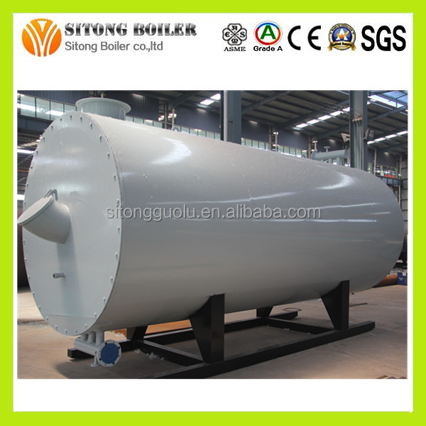Complete in Specifications gas oil fired hot oil boiler heating system