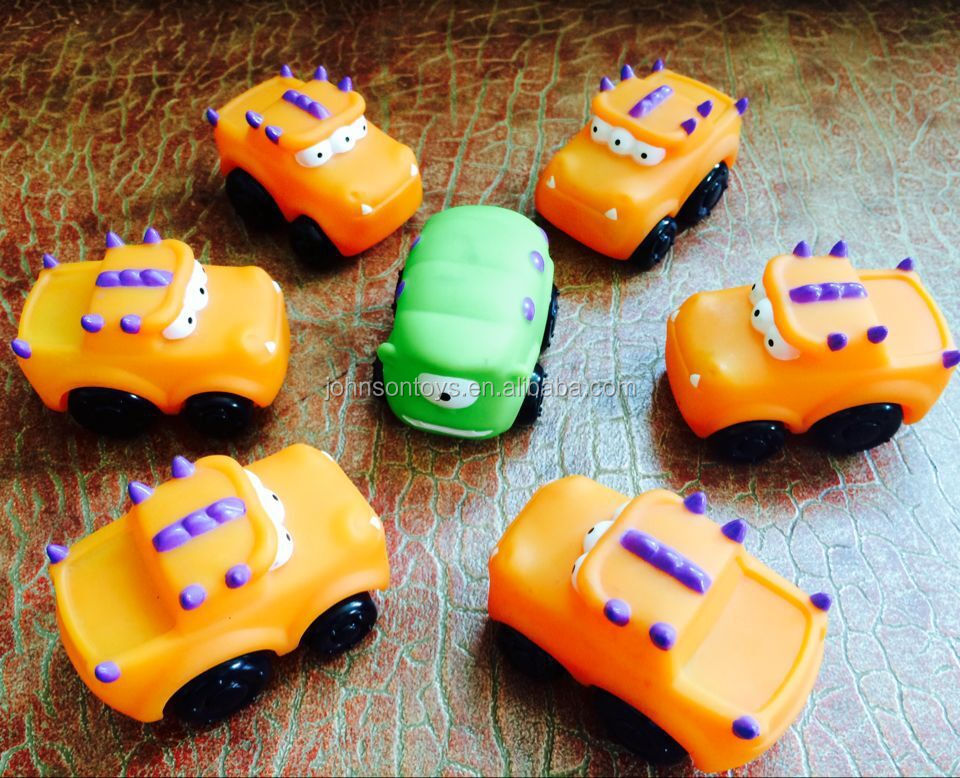 CE roto vinyl pvc mini caterpillar car toy for kids