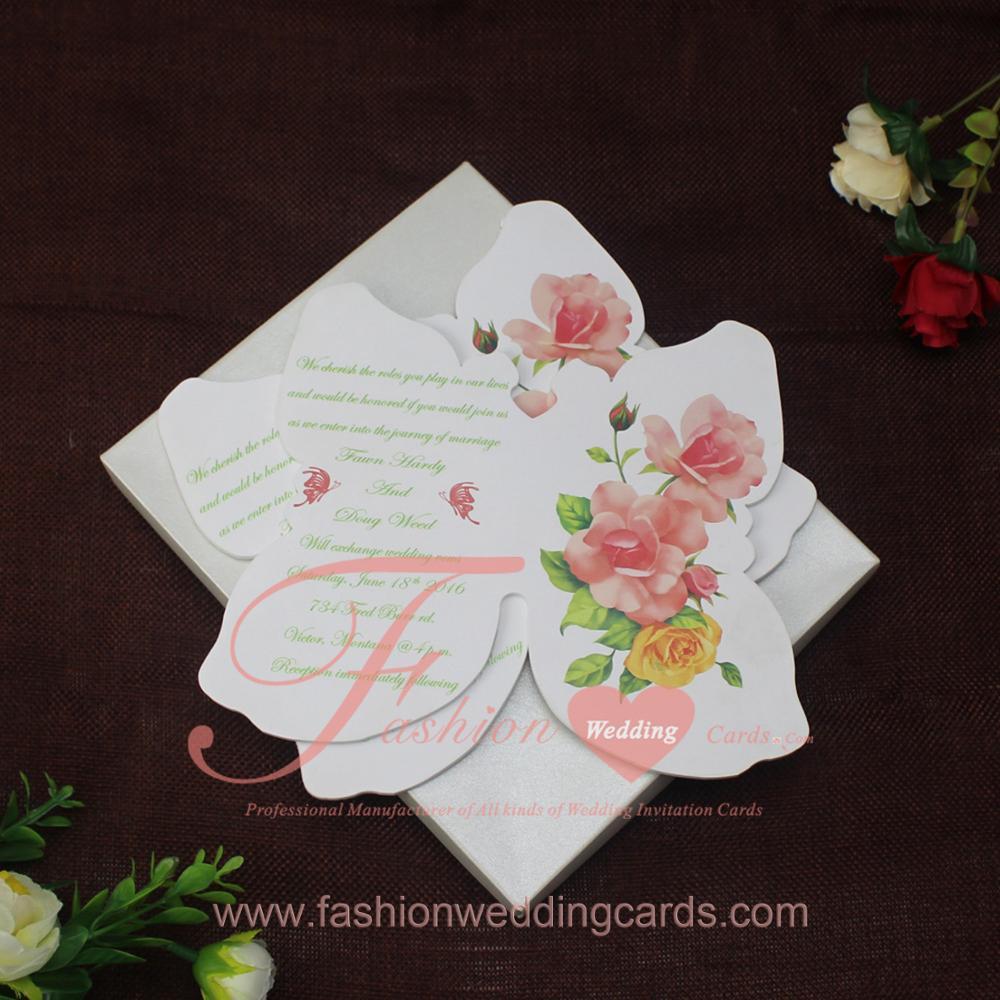 Latest Luxury Butterfly Acrylic Wedding Invitation Cards - Buy ...