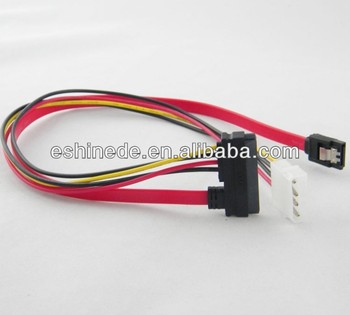 SATA Date Cable 15 7 Pin Power Data To 4 IDE